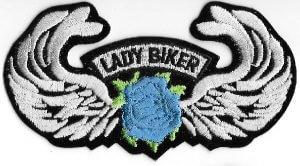 Lady Biker Patch