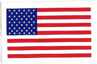 American Flag Decal | Motorcycle Accessories