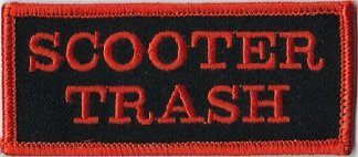 Scooter Trash | Patches