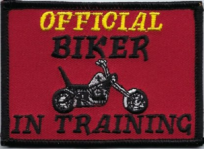 Official Biker In Training | Patches