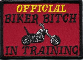 Official Biker Bitch In Training | Patches