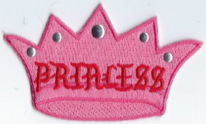 Pink Crown With Princess | Patches