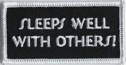 Sleeps Well With Others! | Patches