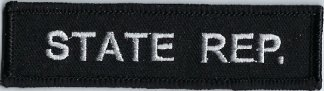State Rep. | Patches