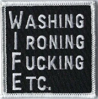 Washing Ironing Fucking Etc. | Patches