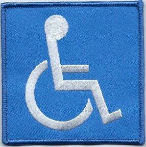 Handicap Sign   Patches