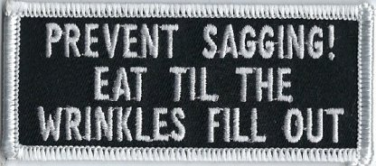 Prevent Sagging! Eat Til The Wrinkles Fill Out | Patches