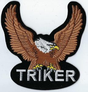 Triker Eagle Brown | Patches