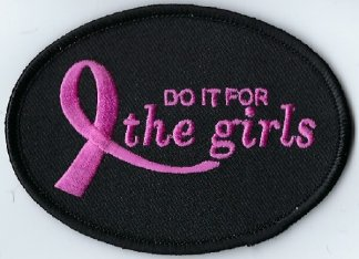 Do It For The Girls With Pink Ribbon | Patches