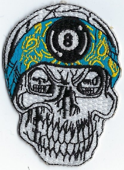 Sull Bandana With 8 Ball | Patches