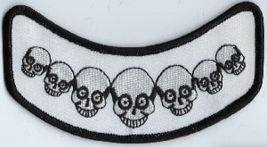 Row of Skulls | Patches