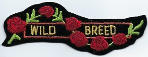 Wild Breed With Roses | Patches