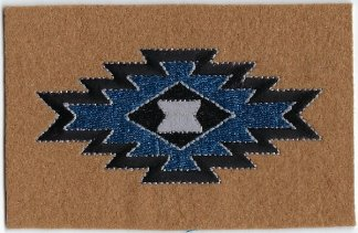 Brown Navaho Design | Patches
