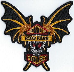 Ride Free Bat | Patches