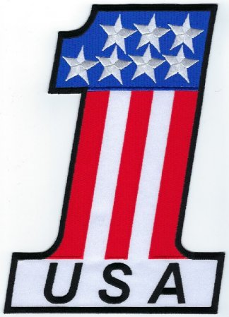 #1 USA Flag | Patches