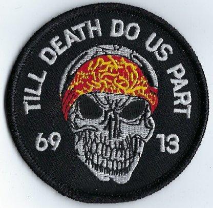 """Skull With """"Till Death Do Us Part"""