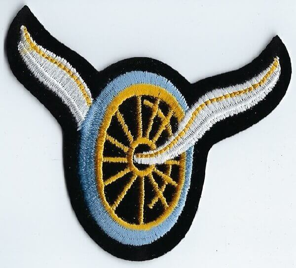 Winged Wheel   Patches