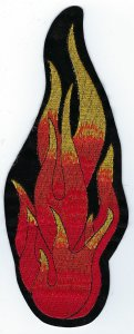 Flame | Patches