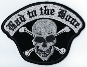 Bad To The Bone Skull & Cross Bones | Patches
