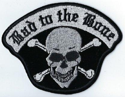 Bad To The Bone Skull & Cross Bones | Patches