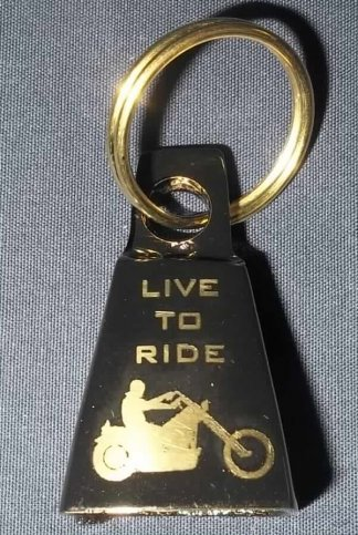 Live To Ride Motorcycle Bell | Motorcycle Accessories