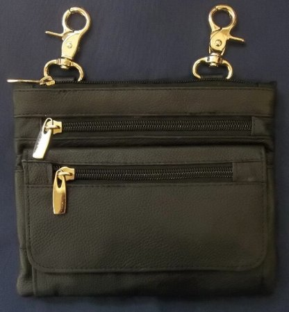 Ladies Belt Clip Bag W/Shoulder Strap | Clothing