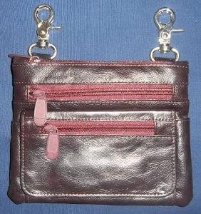 Ladies Belt Clip Bag W/Shoulder Strap | Clothing