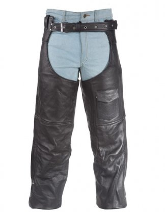 Mens Split Leather Chaps | Clothing