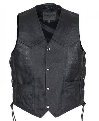 Kids Leather Vest | Clothing
