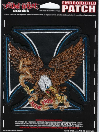 Ride Free Eagle | Patches