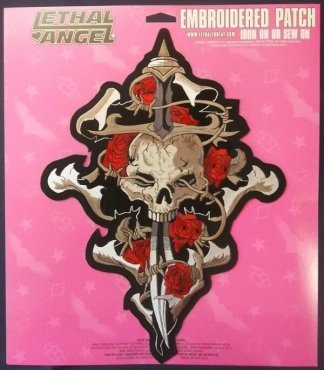 Skull Dagger Rose | Patches