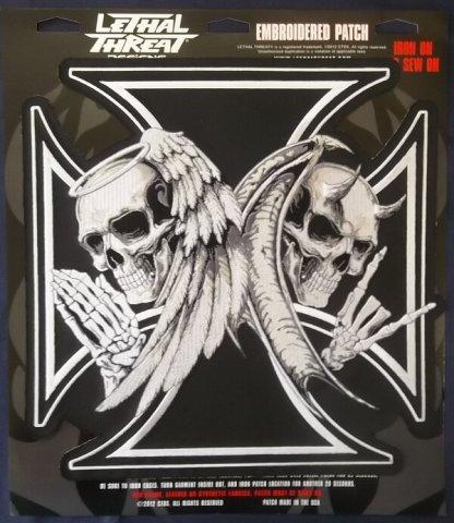 Angel Devil Iron Cross | Patches