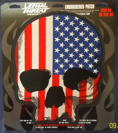 USA Skull | Patches