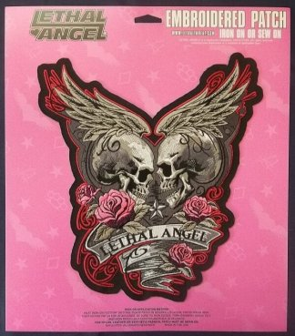 Lethal Angel Rose Skull | Patches
