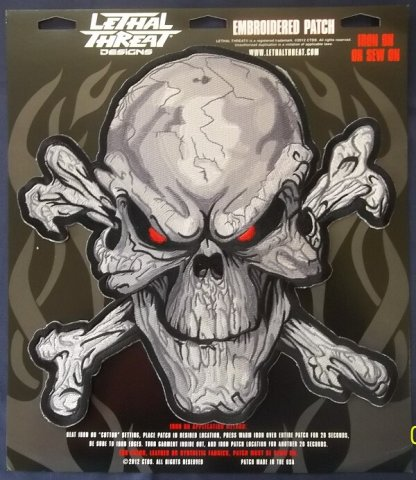 Red Eyed Skull | Patches