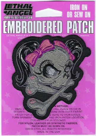 Pink Ribbon Skull | Patches
