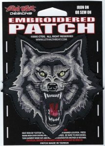 Wolf Head | Patches