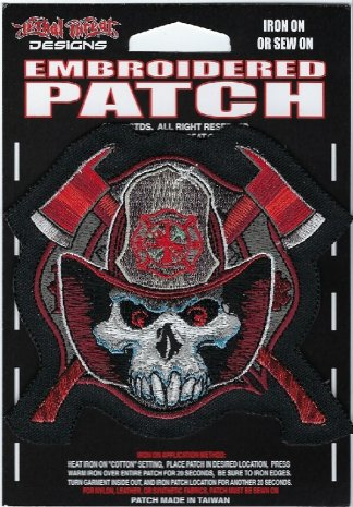 Fireman Skull | Patches