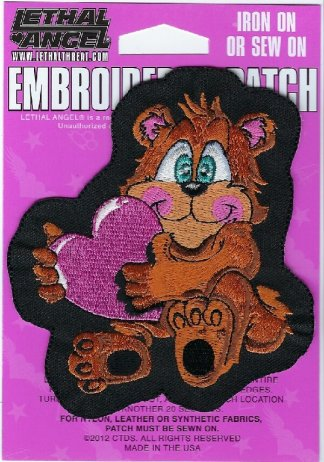 Teddy Bear   Patches