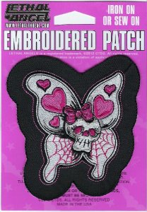 Butterfly Skull | Patches