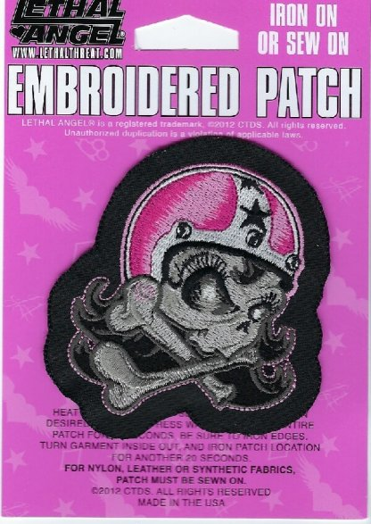 Girl Helmet Right   Patches