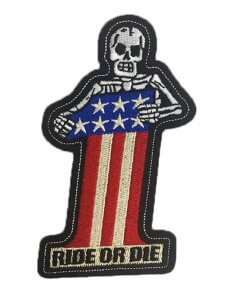 #1 Skull   Patches