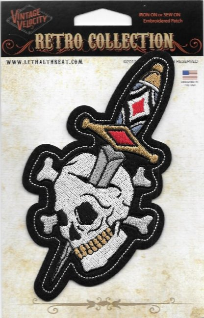 Dagger Skull | Patches