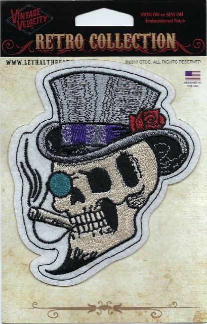Top Hat Skull | Patches