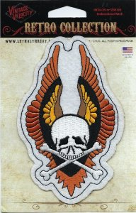 Winged Skull | Patches