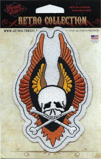 Winged Skull   Patches