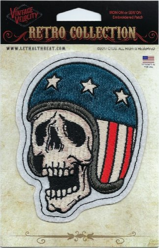 Skull USA Helmet | Patches