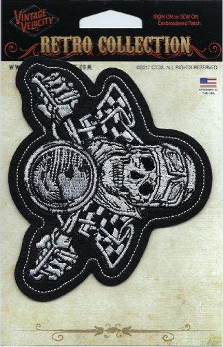Vintage Skull Biker | Patches